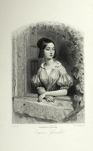 Les Femmes de H. de Balzac. Types,: Surville, Laure] -