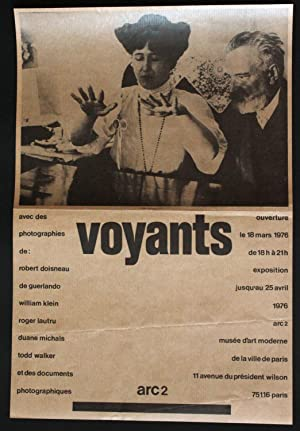 Voyants. ARC 2, Musée d'art modenre de la ville de Paris, 18 mars - 25 avril 1976