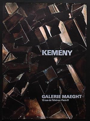 Kemeny : galerie Maeght, Paris: Affiche] Kemeny, Zoltan