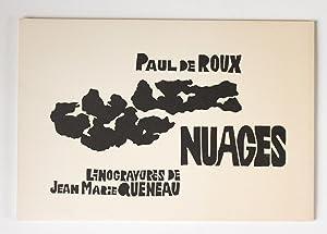 Nuages, linogravures de Jean-Marie Queneau: Roux, Paul de
