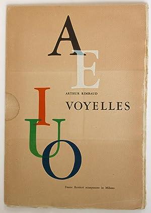 Voyelles, 5 incisioni di Luigi Veronesi: Rimbaud, Arthur -