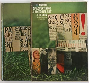 Annual of Advertising and Editorial Art and Design, n° 39. 39th Art Directors Annual, 1960.