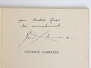 Chanson complète: Eluard, Paul