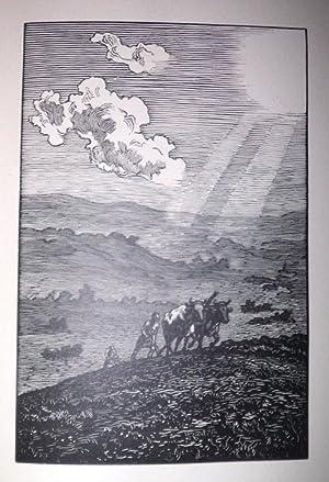 Les Travaux et les jours d'Hésiode, traduction: Hésiode ; France,