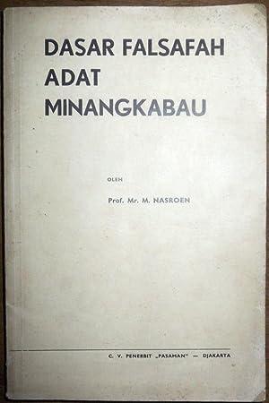 Dasar Falsafah Adat Minangkabau: Mohammad Nasroen [Nasrun]