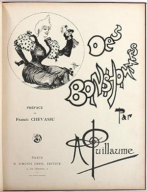 Des bonshommes. [1re série]. Préface par Francis Chevassu.: Guillaume, Albert - ...