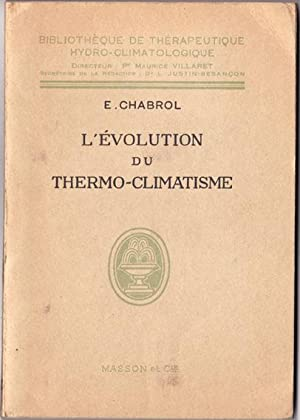 L'Evolution du Thermo-Climatisme