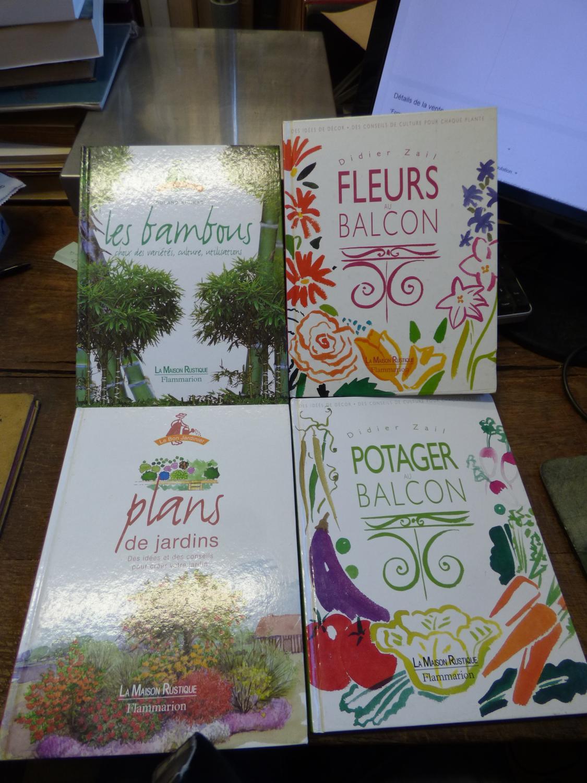 Lot de 4 livres de la collection la maison rustique chez flammarion couverture rigide des - La maison rustique ...