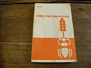 Index phytosanitaire 1978