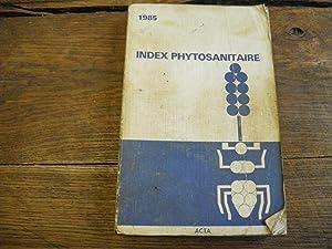 Index phytosanitaire 1985
