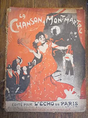 la chanson à Montmartre édité pour l'écho