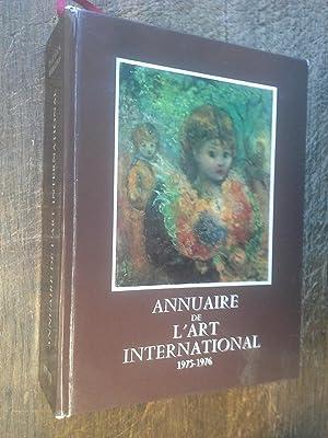 Annuaire de l'art international 1975-1976: Patrick Sermadiras -