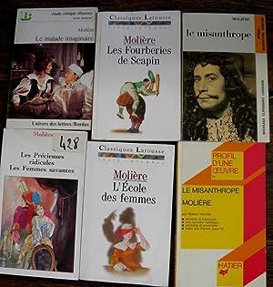 Lot de 18 livres de Molière L'avare: Molière