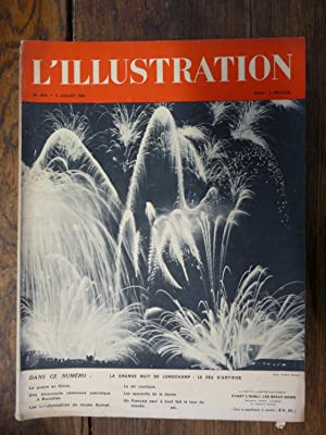 L'illustration n° 4974 - 2 juillet1938 LA