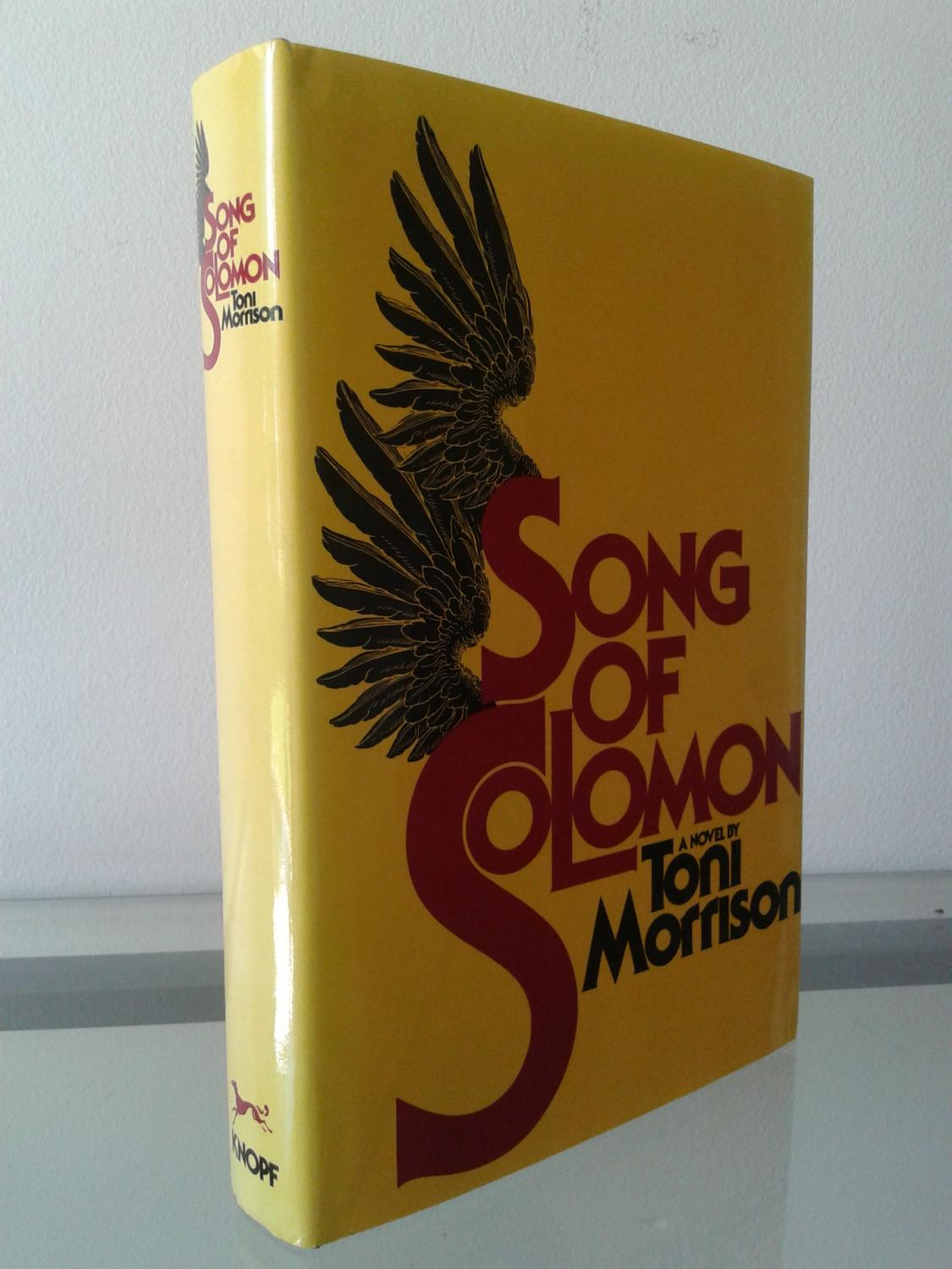 research paper song solomon toni morrison Free research that covers introduction toni morrison's songs of solomon was written and published in 1977, and is considered an iconic part of literature among students, as it has a uniq.