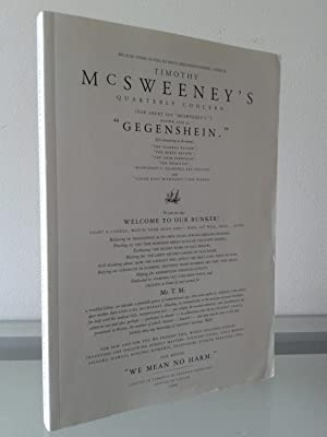 McSweeney's Quarterly Concern #1 (SIGNED BY DAVID: David Eggers (Editor)