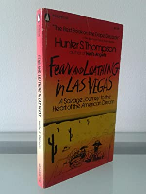 Fear and loathing in las vegas book cover