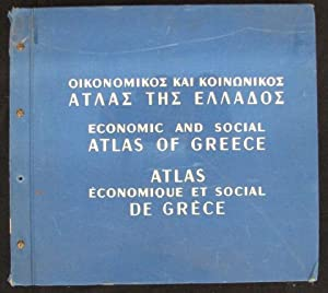 Economic and Social Atlas of Greece (Tri-lingual): Unknown