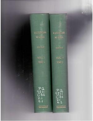 A literatura no Brasil. Volume I, Tome: Coutinho, Afranio
