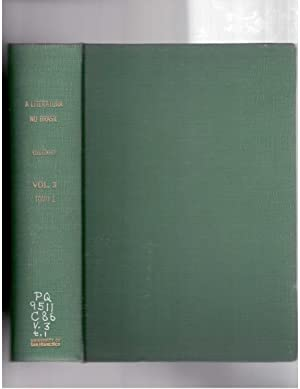 A Literatura no Brasil. Volume III, Tomo: Coutinho, Afranio