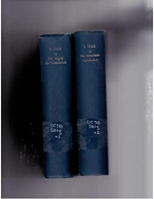 Geschichte der sozialen Bewegung in Frankreich von 1789 bis auf unsere Tage, Band 1-2. Der Begriff ...