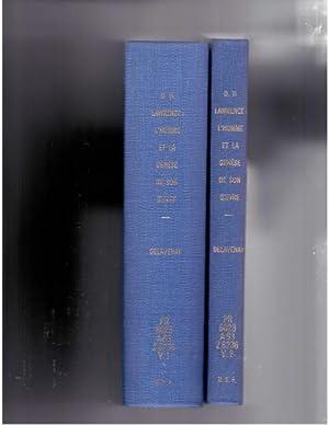 D. H. Lawrence: l'homme et la genese: Delavenay, Emile