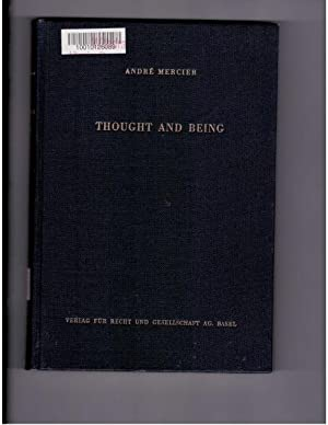 Thought and Being : An Inquiry into: Mercier, Andre