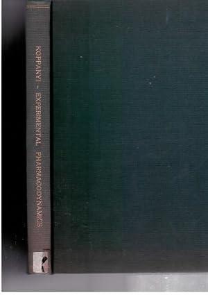 Experimental Pharmacodynamics: Koppanyi, T. Karczmar, A. G.
