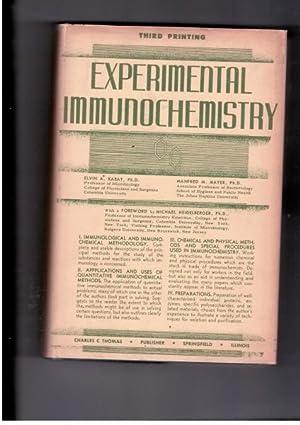 Experimental Immunochemistry: Kabat, Elvin A.;