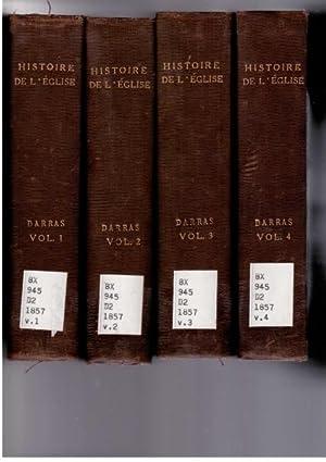 Histoire Generale De L'eglise Depuis Le Commencement: Darras, J. E.