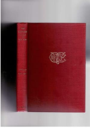 Year Book of The Economic Club of New York, Volume III, Containing the Addresses of the Season 1912...