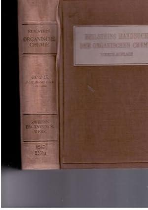 Beilsteins Handbuch der Organischen Chemie; Vierte Auflage; Zweites Erganzungswerk Die Literatur ...
