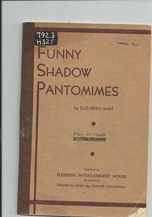 Funny Shadow Pantomimes: Hart, Elizabeth