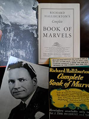 RICHARD HALLIBURTON'S Complete BOOK OF MARVELS: HALLIBURTON, RICHARD