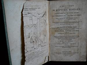 A SHORT VIEW of the whole SCRIPTURE HISTORY with a CONTINUATION OF THE JEWISH AFFAIRS with a ...