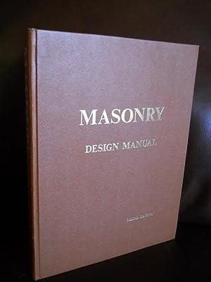 MASONRY DESIGN MANUAL: JAMES E. AMRHEIN,