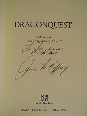 Dragonquest (SIGNED): McCaffrey, Anne