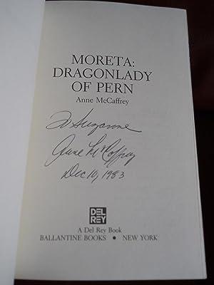 Moreta: Dragonlady of Pern (SIGNED): McCaffrey, Anne