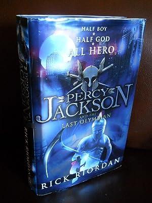 PERCY JACKSON AND THE LAST OLYMPIAN (SIGNED): RIORDAN, RICK