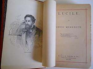 LUCILE: OWEN MEREDITH (ROBERT BULWER-LYTTON)