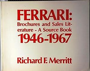 Ferrari brochures and sales literature: A source: Merritt, Richard F.