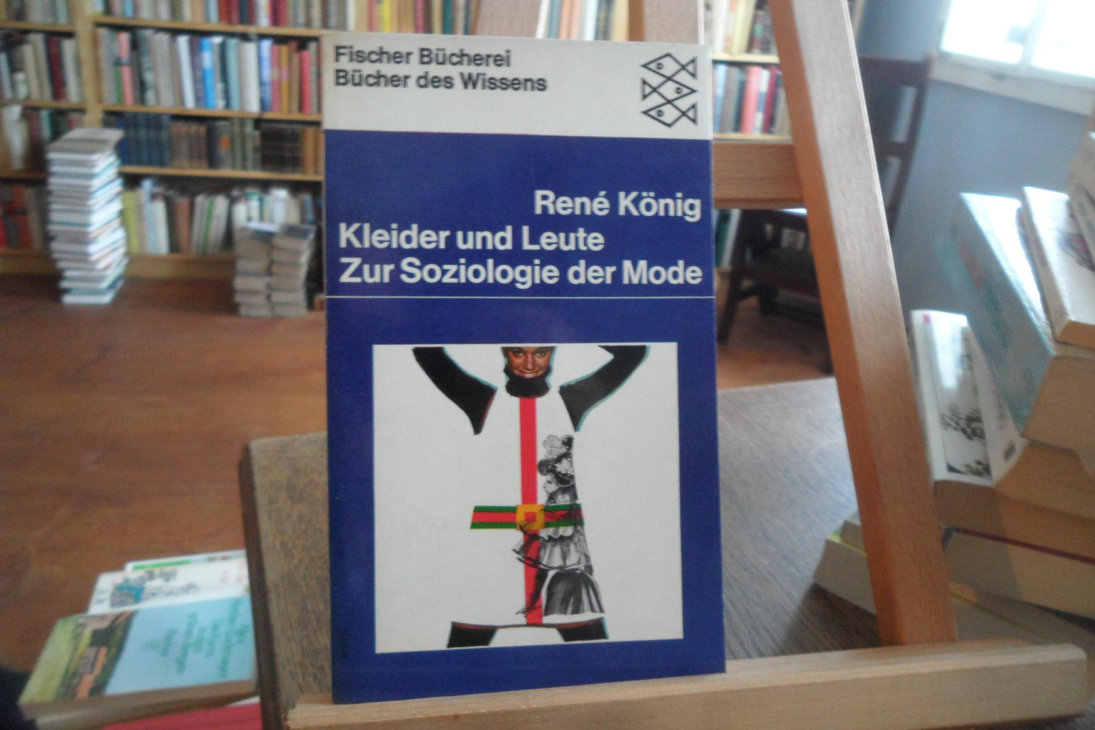 kleider und leute. zur soziologie der mode.