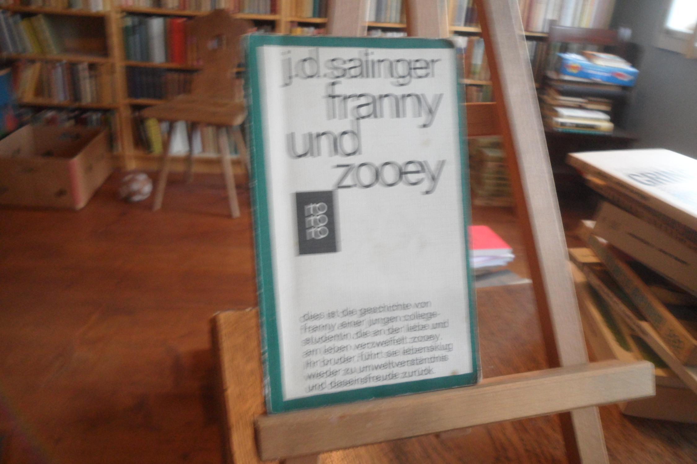 franny und zooey.: Salinger, J. D.: