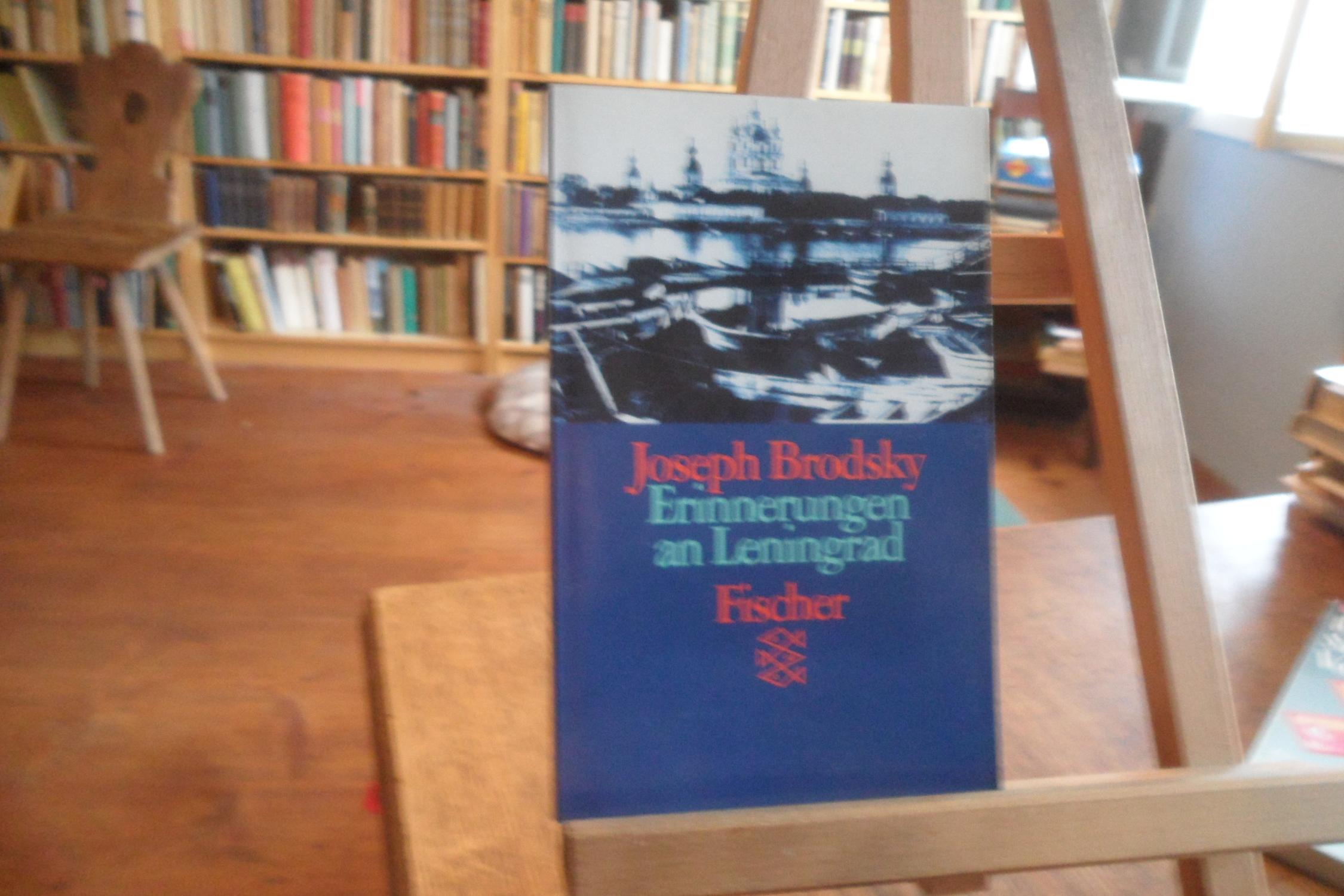 Erinnerungen an Leningrad.: Brodsky, Joseph: