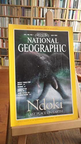 National Geographic. Official Journal. Vol. 188, No.