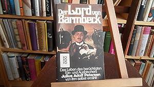 Der Lord von Barmbeck.: Petersen, Julius Adolf