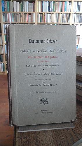 Karten und Skizzen aus der vaterländischen Geschichte: Rothert, Prof. Dr.
