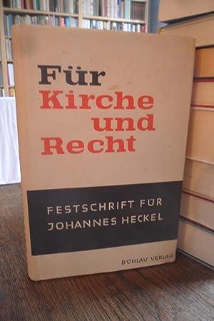 Für Kirche und Recht. Festschrift für Johannes: Grundmann, Siegfried (Hrsg.):