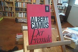 Der Fremde.: Camus, Albert: