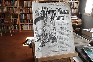 Armee-Marsch-Album für Pianoforte. Edition Wernthal Nr. 1100.
